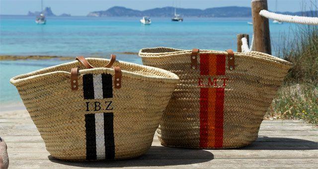 Personaliza tu capazo de verano con tus iniciales por solo 58€!! #summer #fashionist #onlyou