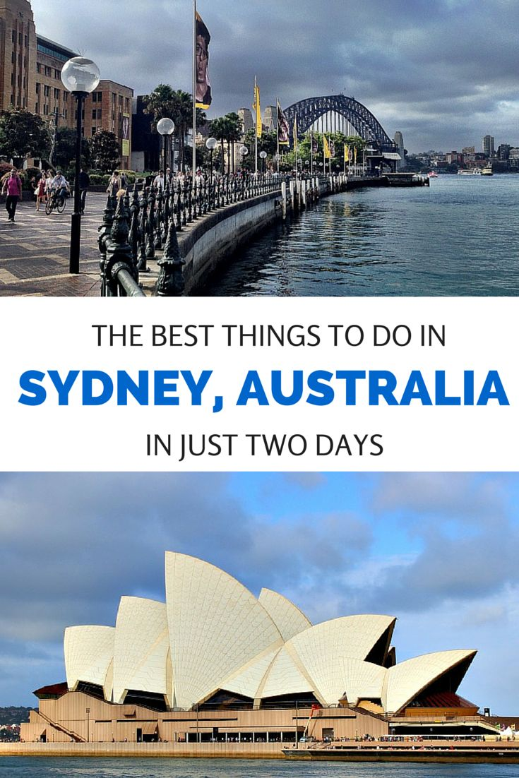 From how to get a great view of the Harbour Bridge and Opera House to the best scenic walks, here's how to see the top sights in Sydney, Australia in just two days.