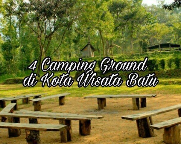 4 Camping Ground di Kota Wisata Batu
