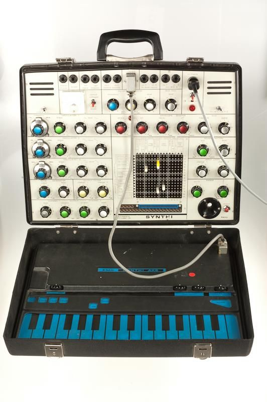 Synthesizer EMS (Electronic Music Studios) London, Ltd. 1972 - 1992