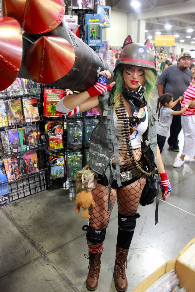 Tank Girl #cosplay #sexy
