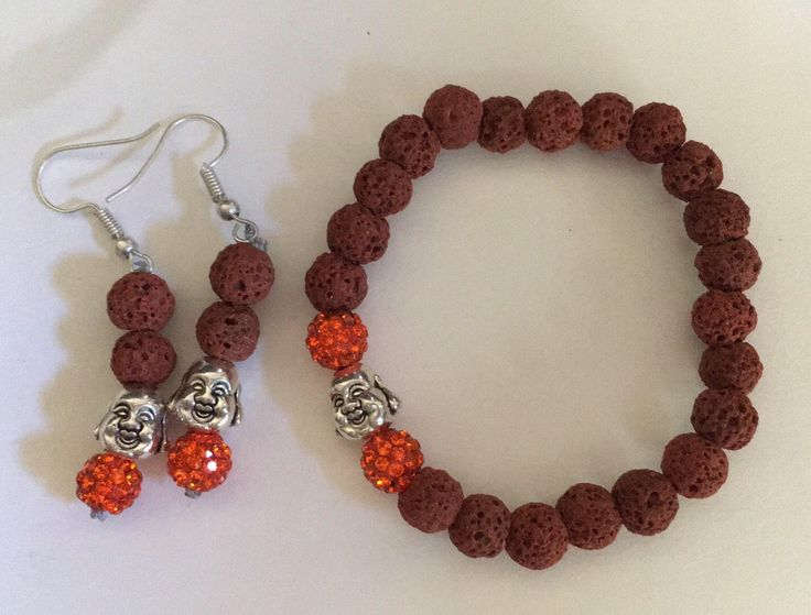 A personal favourite from my Etsy shop https://www.etsy.com/au/listing/528121625/lucky-buddha-jewelery-set-lava-beads