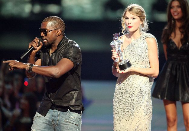 """Speaking at his show in the Philippines over the weekend, Kanye made a strange comment in which he said that interupting Taylor at the MTV Awards had been the """"beginning of the end of my life."""""""