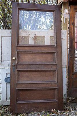 Front door Antique Victorian Entry Door Original Door by VintageChicFurniture, $750.00