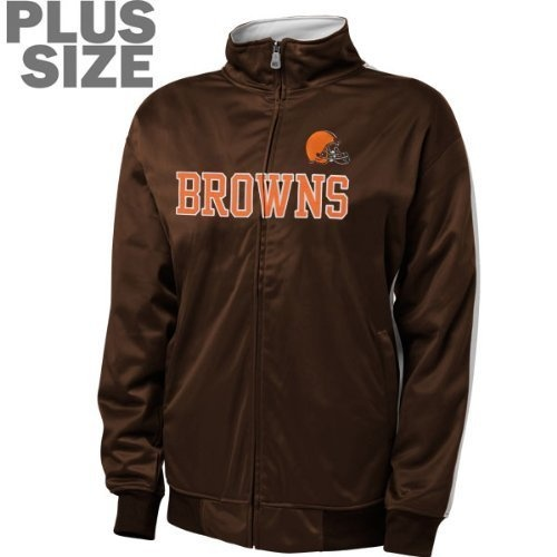 newest 5de7d 41681 menss cleveland browns tailgater full zip hoodie coffee