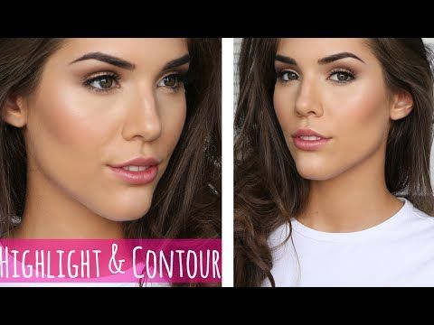 HOW TO HIGHLIGHT AND CONTOUR FOR BEGINNERS! - YouTube
