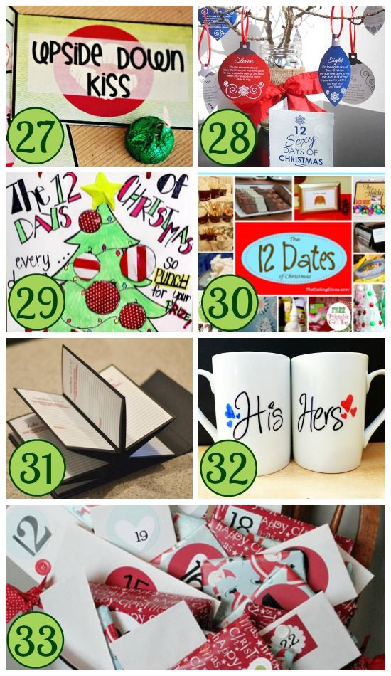 12 Sexy Days of Christmas – A great countdown of intimate ideas for you and your spouse before Christmas.