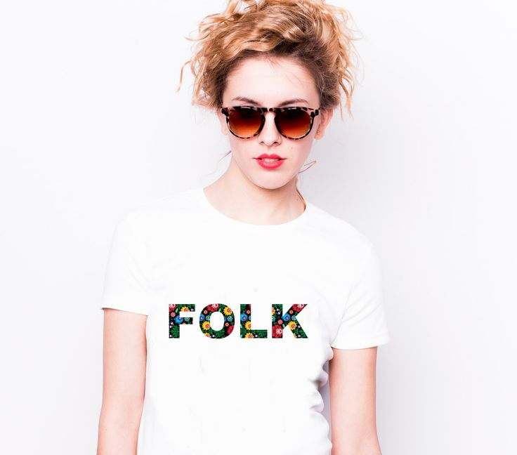 #folk #folklor #słowianie #polska #motywludowy #koszulka #tshirt