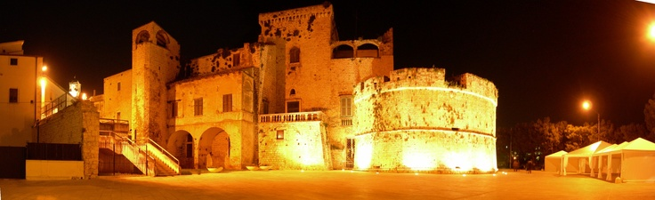 The really special atmosphere of Conversano's Castle