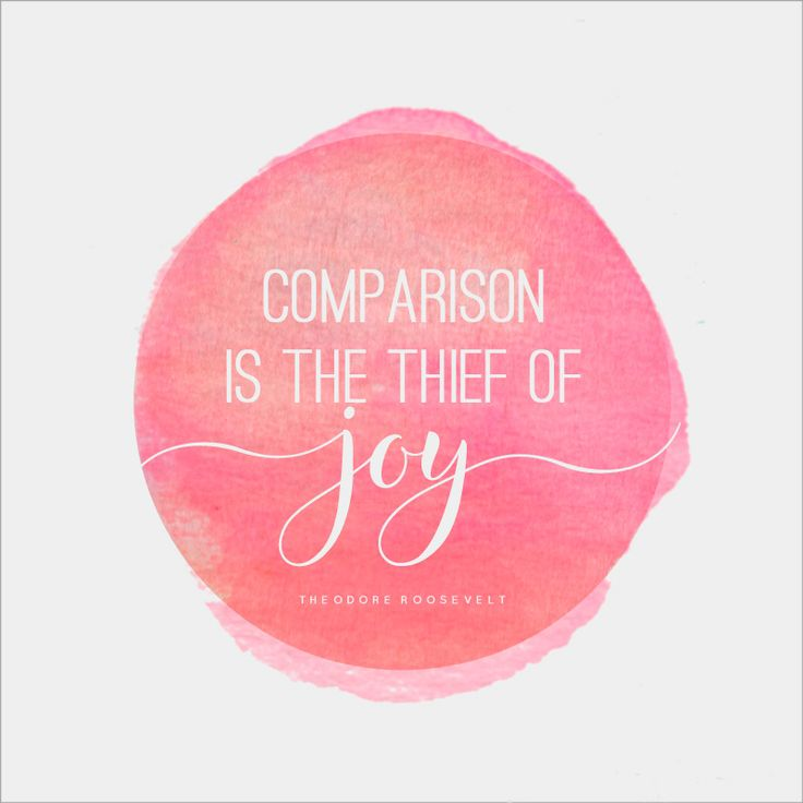 Learn why comparing yourself to others steals your joy and what you can do to get it back! Plus free printables about joy.