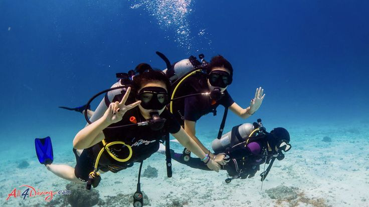 Learn How to Dive: Scuba Diving Lessons for Beginners by All4Diving Phuket