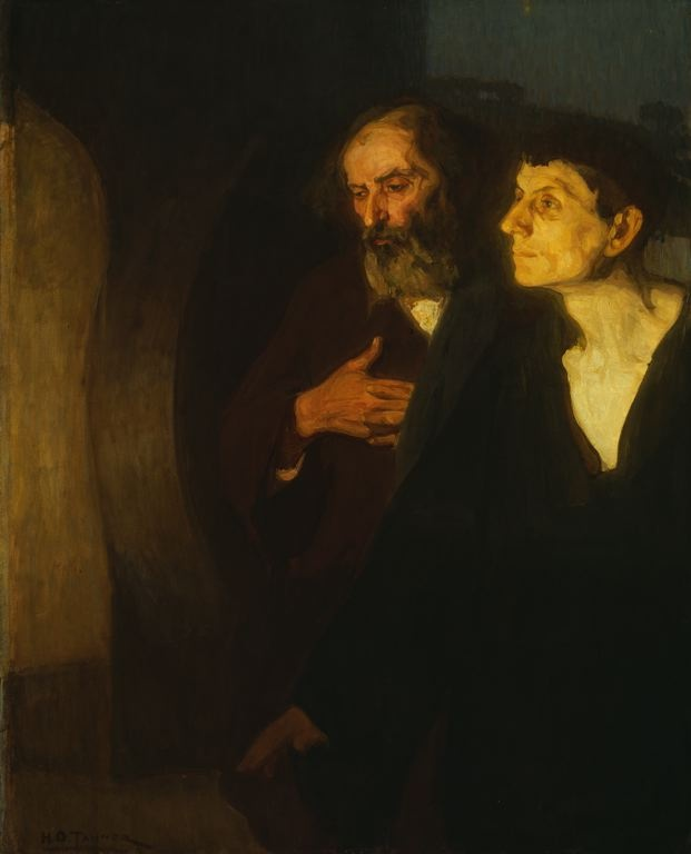 Henry Ossawa Tanner  American, 1859-1937  The Two Disciples at the Tomb, c. 190Tanners 18591937, Tanners Art, American Art, Henry Ossawa, Tomb Henry, Tanners American, 1859 1937, American Painting, Ossawa Tanners
