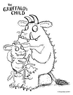 Gruffalo S Child Colouring Pages Pinterest Children The Gruffalo Colouring Pages