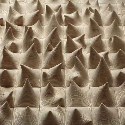 Korean sculptor Cha Jong-Rye creates her magical works by layering & sanding hundreds of delicate wood pieces!