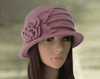 Felted wool hats, Womens winter hats, Felt hat for women, Ladies winter hat, Felted cloche hat, Women's wool hat, Wool hats for lady,