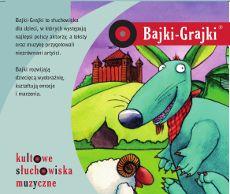 Polscy autorzy dla dzieci cz. 1 (dla młodszych dzieci) - zestaw 5 bajek | bajki muzyczne | Bajki-grajki