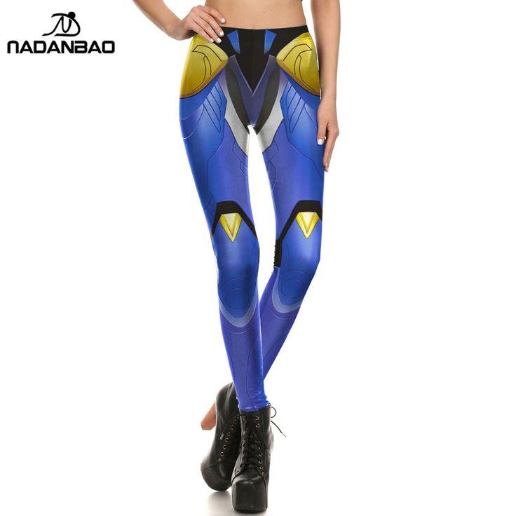 NADANBAO Leggins Pants colorful leggings For Women navy trousers printed spandex best leggings Fitness Femmes Workout Leggings