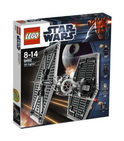 LEGO Star Wars 9492: Tie Fighter: Amazon.co.uk: Toys & Games