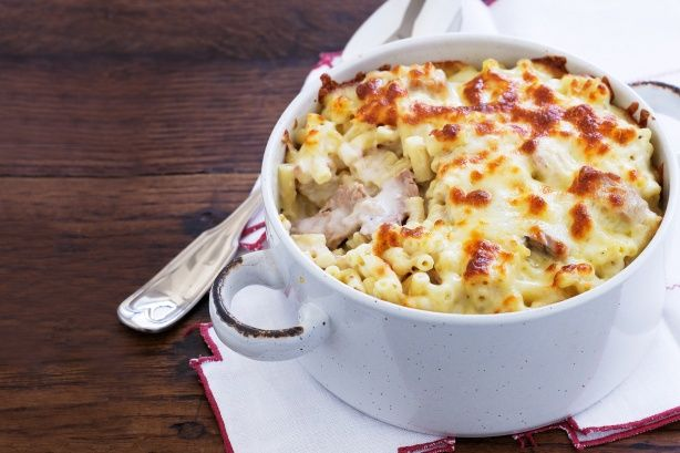 Tuna Pasta Bake. Just six ingredients is all you need for this speedy ...