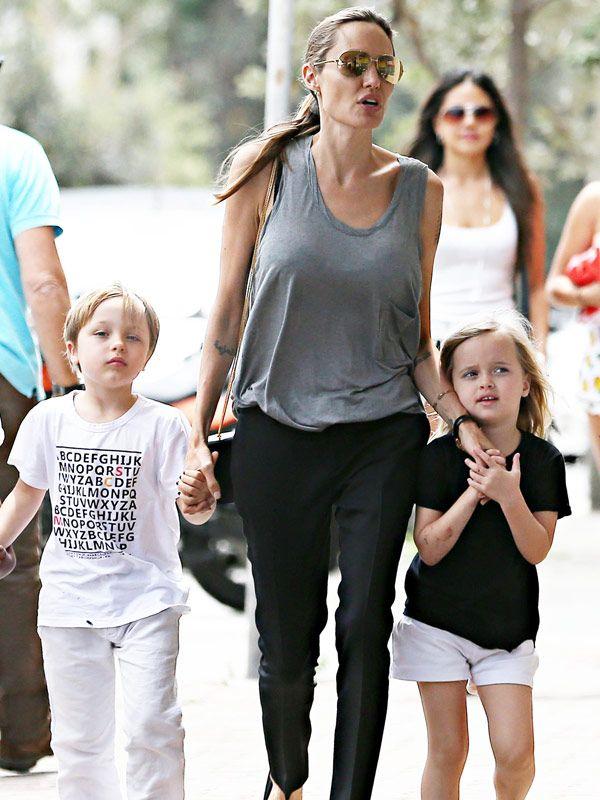 Vivienne & Knox Jolie-Pitt Turn 6 Happy Birthday