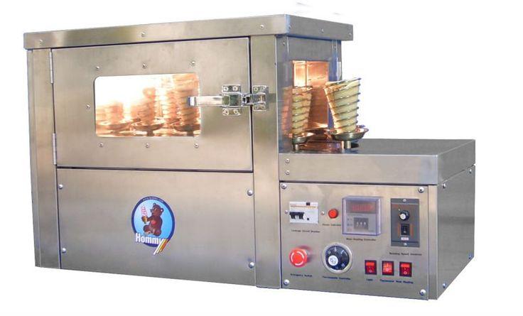 pizza cone machine Rotating pizza cone oven