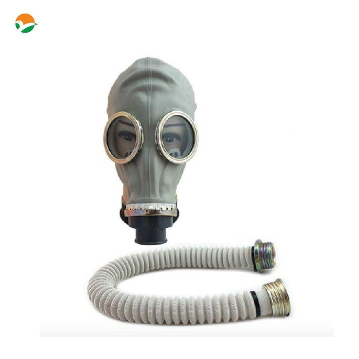 Wojskowy maska, rosyjski maska styl, silikon maska bez filtra, ale z rury