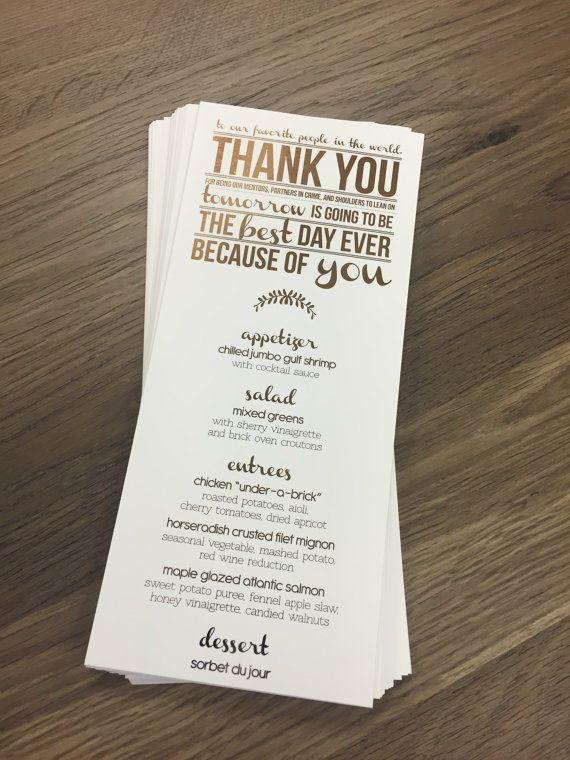 Wedding Rehearsal Dinner Gifts: Best 25+ Rehearsal Dinner Menu Ideas On Pinterest