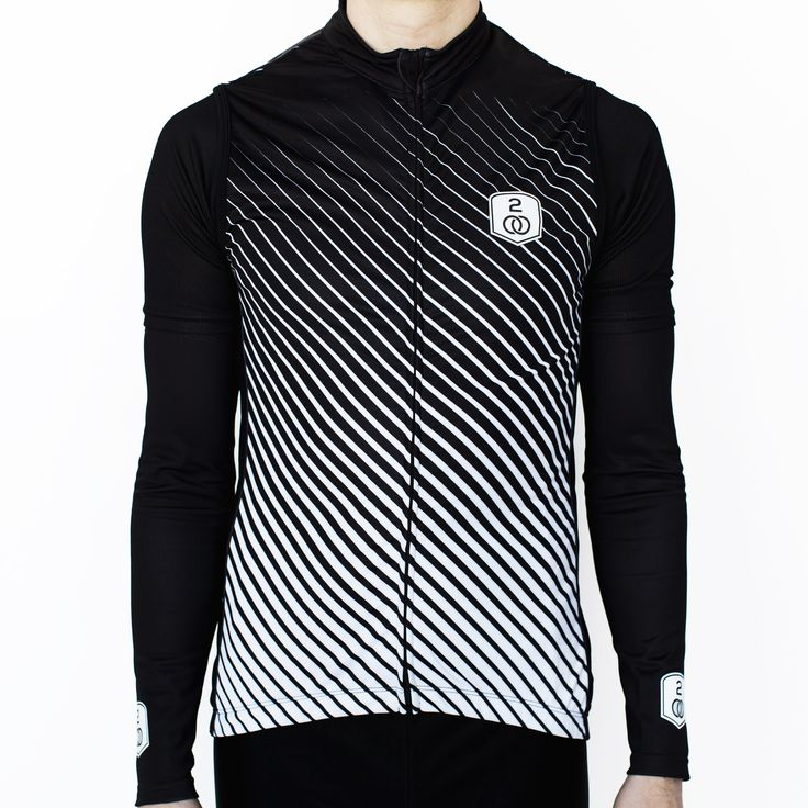 Men's Stripes Thermal Cycling Vest 50% OFF