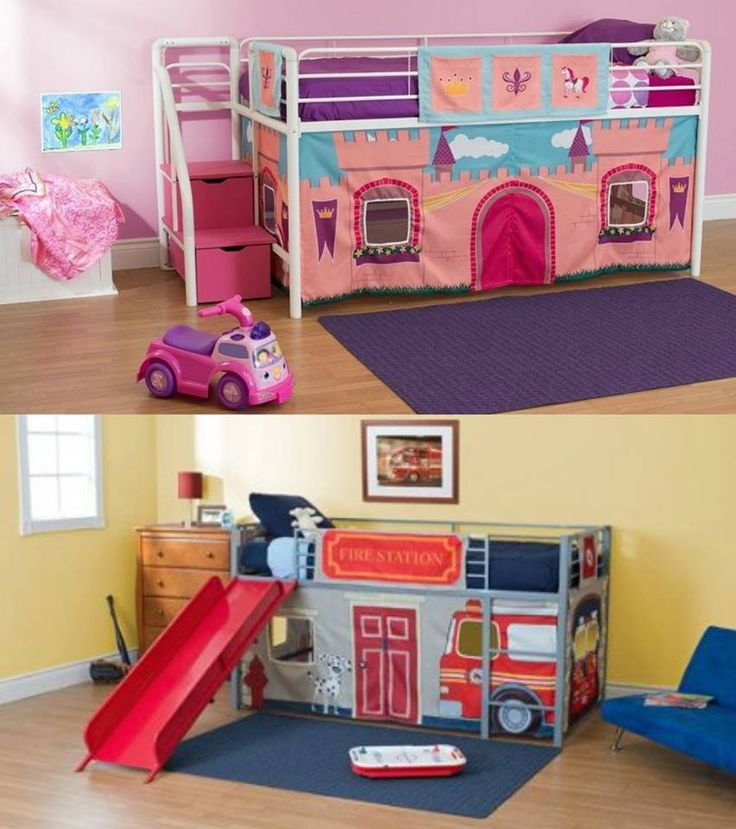 Genius Boy and Girl Loft Bed Ideas