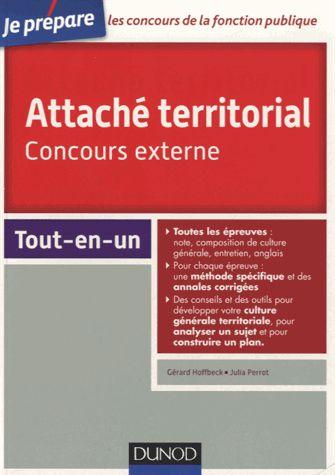 Attaché territorial, concours externe Gérard Hoffbeck, Julia Perrot