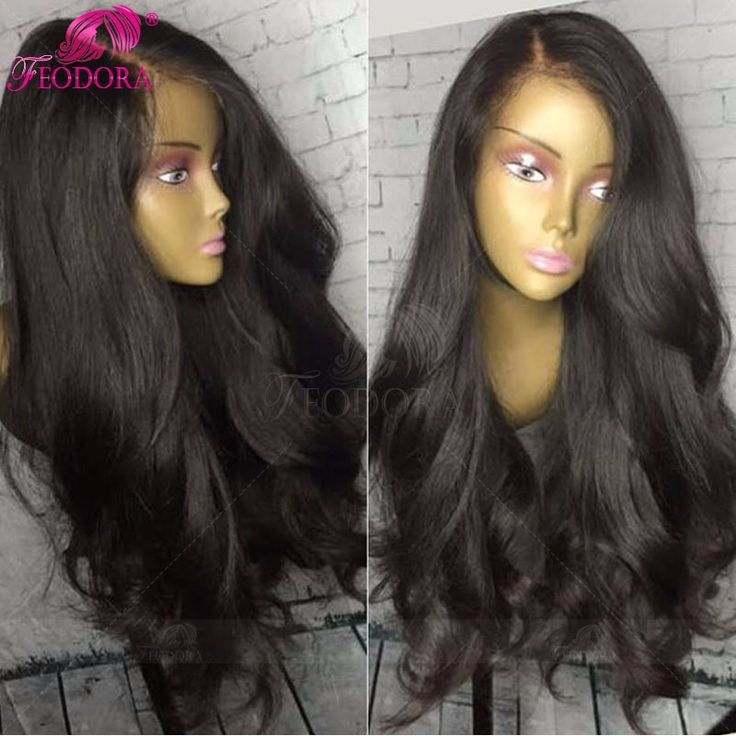 Stocked Human Hair Lace Front Wigs Silk Base 100% Full Lace Wigs Natural Baby Hair Hairline 180% Glueless Hot Sale Human Hair