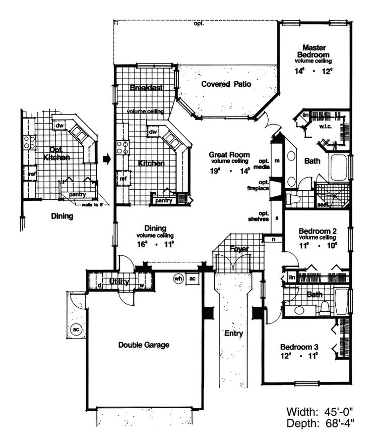 Adobe and southwestern plan first floor 047d 0016 from for Www houseplansandmore com