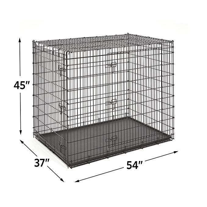 Amazonsmile Midwest Homes For Pets Xxl Giant Dog Crate 54 Inch