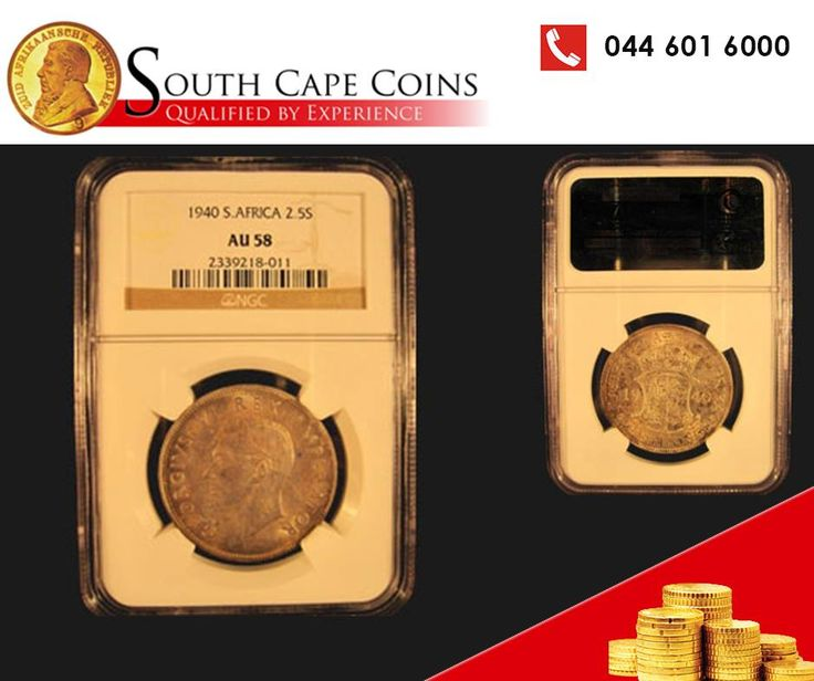 Calling all coin collectors! The 1940 Half Crown is for sale at South Cape Coins! Click on the link for more info: http://asite.link/318 or give us a call on 0861 0 COINS. E&OE. #SouthCapeCoins #HalfCrown #1940