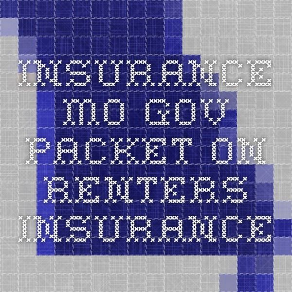 insurance.mo.gov - packet on renters insurance   Renters ...