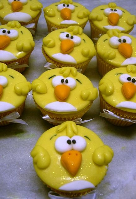 Funny Chick Cupcakes