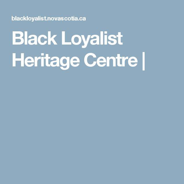 Black Loyalist Heritage Centre |