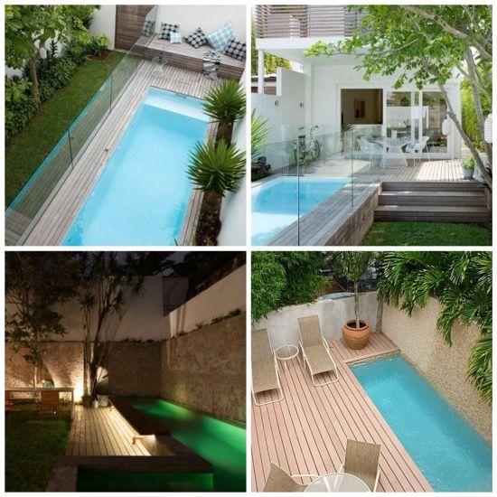 8 best images about mini piscines en bois on pinterest - Deco petit jardin ...