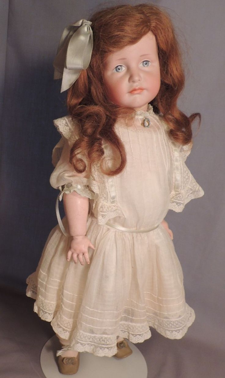 20 IN Kammer & Reinhardt #114 Gretchen German Pouty! from ashleysdollsandantiquities on Ruby Lane