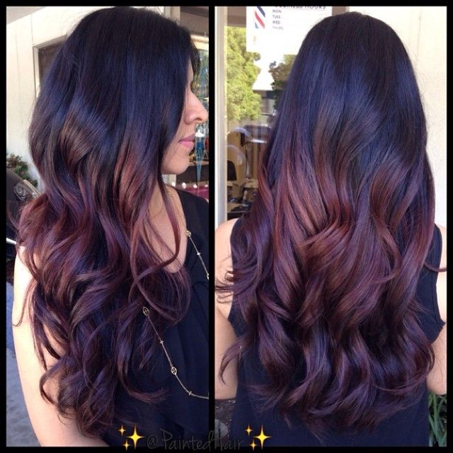 17 Best Ideas About Violet Brown Hair On Pinterest Dark Plum Brown Hair Plum Brown Hair And