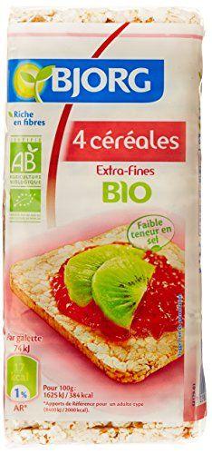 Bjorg Galettes Céréales Extra Fines 4 céréales Bio 130 g