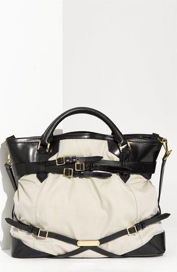 Burberry Belted Handbag