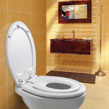 Bemis - Orlando Next Step 2 Antibacterial Soft Close Child Toilet Seat - 4250ELT000 at Victorian Plumbing UK