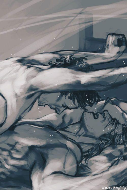 Loki Laufeyson / Thor Odinson by wantstobelieve (Thorki, Tom Hiddleston, Chris Hemsworth, Avengers Fanart)