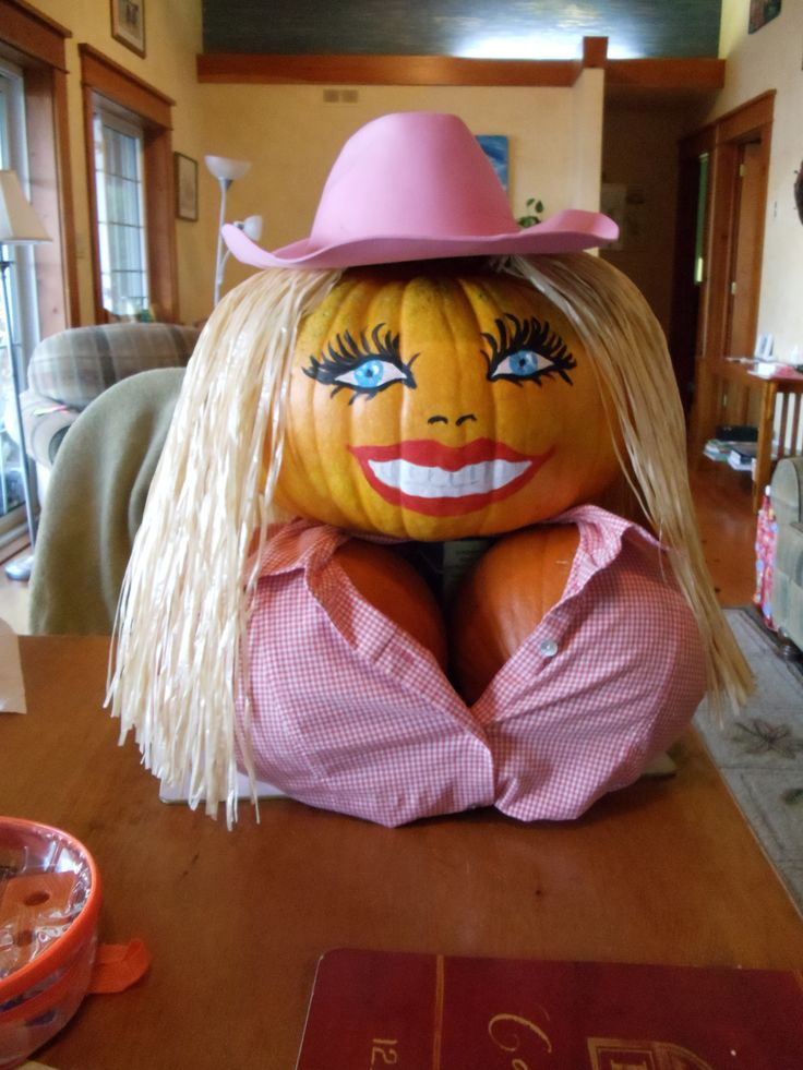 Pamela Anderson or Dolly Partons Pumpkins
