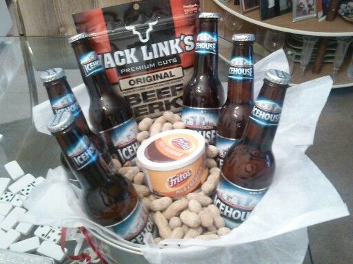 Beer gift basket!!