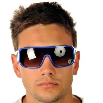 Óculos HB Carvin Azul Brilho Masculino