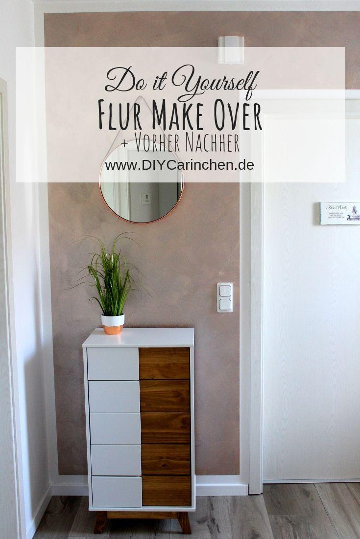 Diy Flur Make Over Inklusive Vorher Nachher Streich Tipps Schoner Wohnen Wandfarbe Haus Deko Streiche