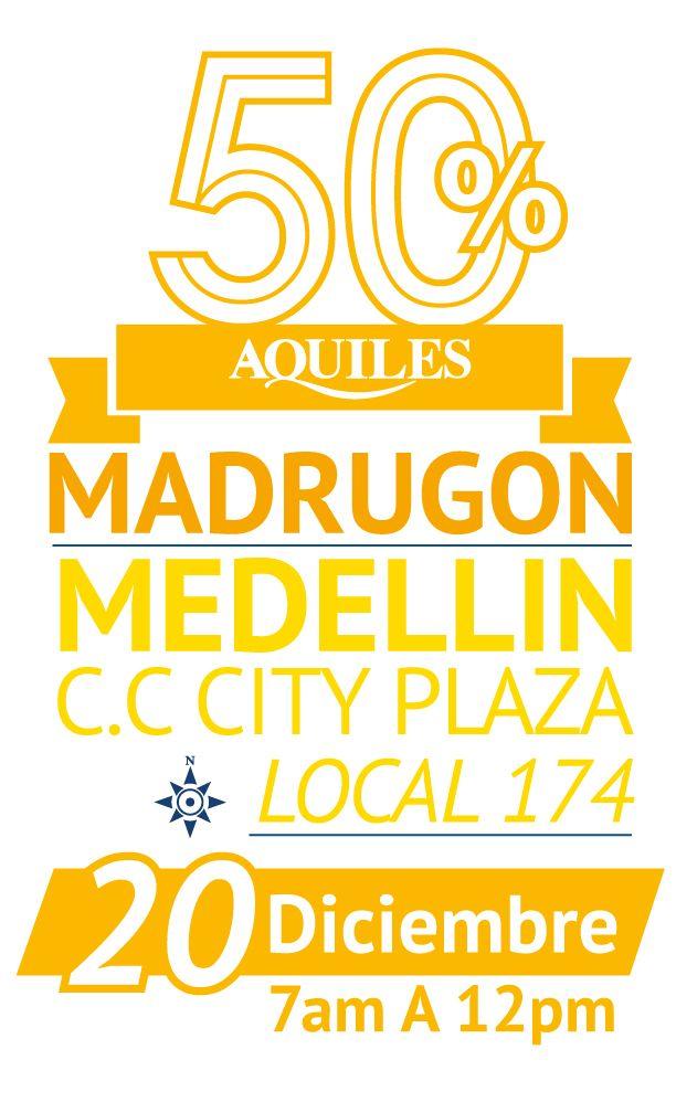 Gran madrugón C.C. City Plaza Medellin 20 de Diciembre 2014 de 7am A 12pm.