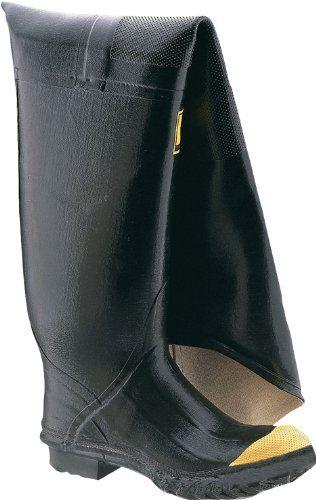 Honeywell Safety 2143-11 Ranger Safety Full Hip Boot for Men's, Size-11, Black